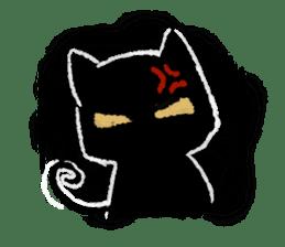Ugly Black Cat sticker #7203567