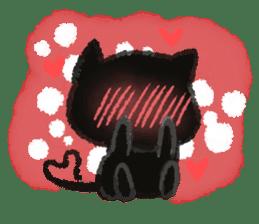 Ugly Black Cat sticker #7203568