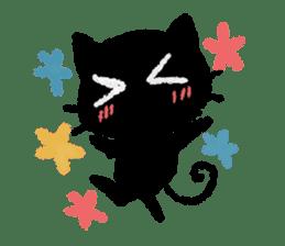 Ugly Black Cat sticker #7203569