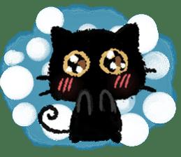 Ugly Black Cat sticker #7203573