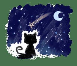 Ugly Black Cat sticker #7203575