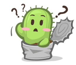 Mini Cactus - little Mi sticker #7204381