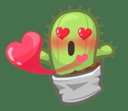 Mini Cactus - little Mi sticker #7204385