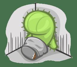 Mini Cactus - little Mi sticker #7204386