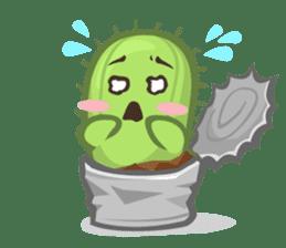 Mini Cactus - little Mi sticker #7204387