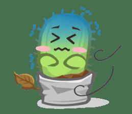 Mini Cactus - little Mi sticker #7204388