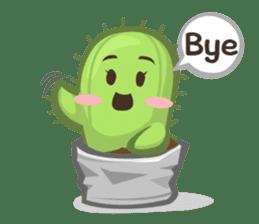 Mini Cactus - little Mi sticker #7204389