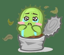 Mini Cactus - little Mi sticker #7204393