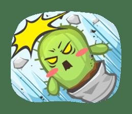 Mini Cactus - little Mi sticker #7204396