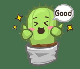 Mini Cactus - little Mi sticker #7204398