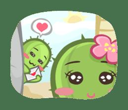 Mini Cactus - little Mi sticker #7204402