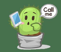 Mini Cactus - little Mi sticker #7204405