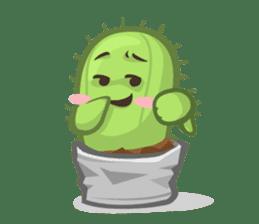 Mini Cactus - little Mi sticker #7204408