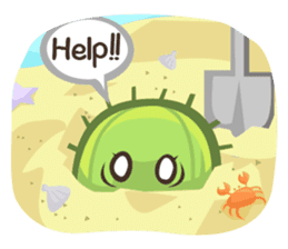Mini Cactus - little Mi sticker #7204411