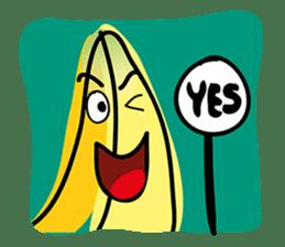 Banana Wahaha sticker #7204737