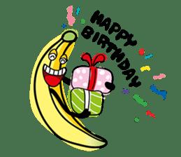 Banana Wahaha sticker #7204755