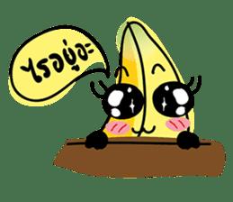 Banana Wahaha sticker #7204763
