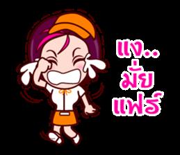 Gigi To Be The Waitress sticker #7210298