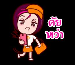 Gigi To Be The Waitress sticker #7210300
