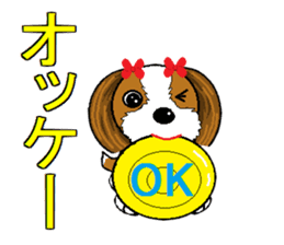 I Love  cute Shih Tzu sticker #7211480