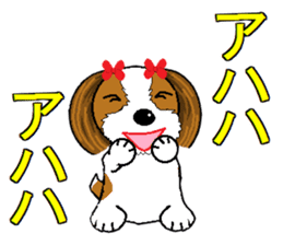 I Love  cute Shih Tzu sticker #7211484