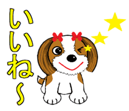 I Love  cute Shih Tzu sticker #7211488