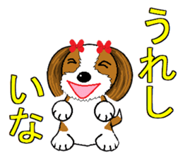 I Love  cute Shih Tzu sticker #7211493