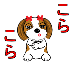 I Love  cute Shih Tzu sticker #7211507