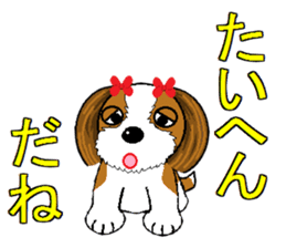 I Love  cute Shih Tzu sticker #7211510
