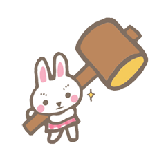 Pinky of rabbit 2 (English)
