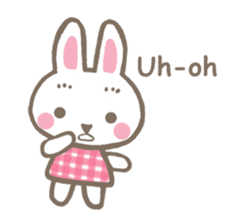 Pinky of rabbit 2 (English) sticker #7216840