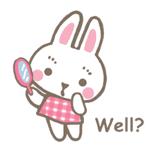 Pinky of rabbit 2 (English) sticker #7216842