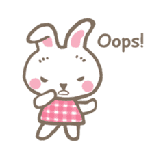 Pinky of rabbit 2 (English) sticker #7216843