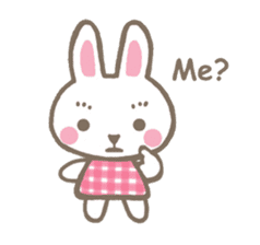 Pinky of rabbit 2 (English) sticker #7216848