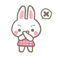 Pinky of rabbit 2 (English) sticker #7216852