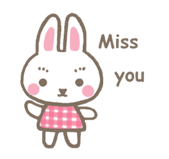 Pinky of rabbit 2 (English) sticker #7216858