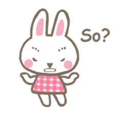Pinky of rabbit 2 (English) sticker #7216859