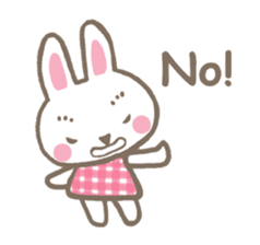 Pinky of rabbit 2 (English) sticker #7216862