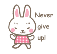 Pinky of rabbit 2 (English) sticker #7216864