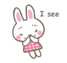 Pinky of rabbit 2 (English) sticker #7216873