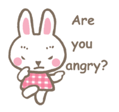 Pinky of rabbit 2 (English) sticker #7216874