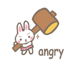 Pinky of rabbit 2 (English) sticker #7216876