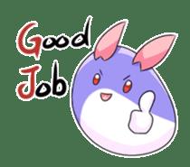 Mochi_rabbit sticker #7217815