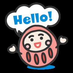 English daruma doll 2