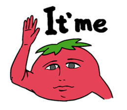 The sweet tones of a sweet tomato.(Eng) sticker #7239488
