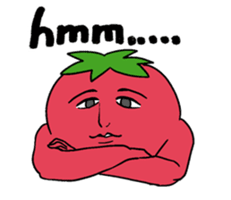 The sweet tones of a sweet tomato.(Eng) sticker #7239496
