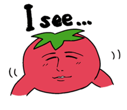 The sweet tones of a sweet tomato.(Eng) sticker #7239500
