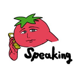 The sweet tones of a sweet tomato.(Eng) sticker #7239503
