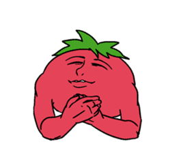 The sweet tones of a sweet tomato.(Eng) sticker #7239521
