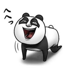 Cute panda!! sticker #7240746